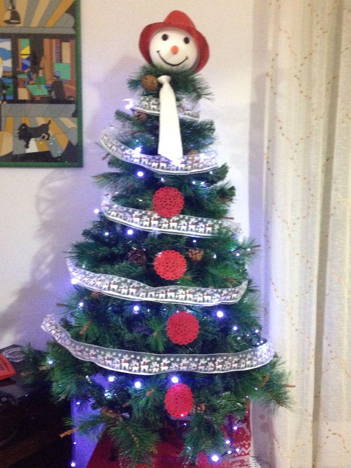 Christmas tree, albero di Natale, snowman, pupazzo di neve