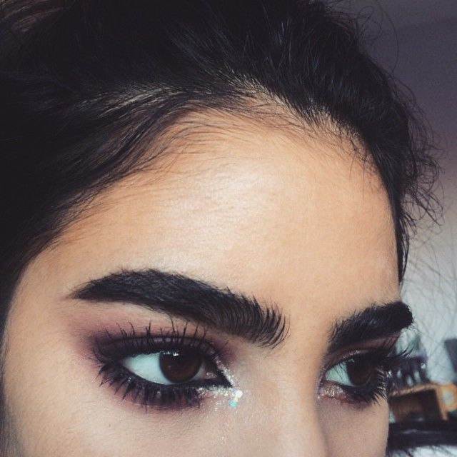 Her brows are life