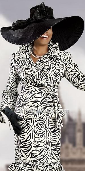 Donna Vinci Couture Church Hat H2039