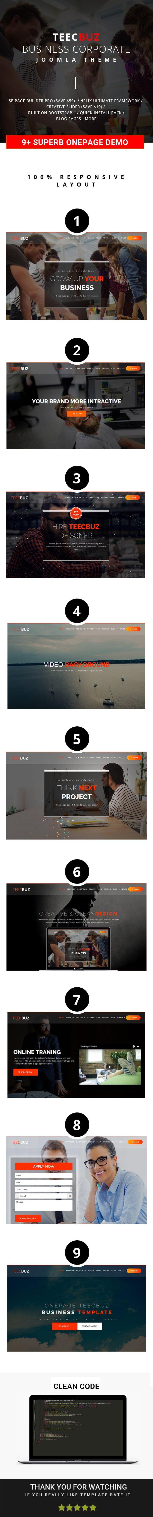 26 best Joomla Theme images on Pinterest