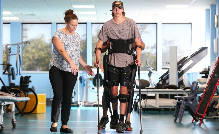 #Technology gets teenager Angus Johnston back on his feet after motorbike crash - The West Australian: The West Australian Technology gets…