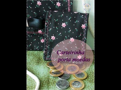 porta moedas
