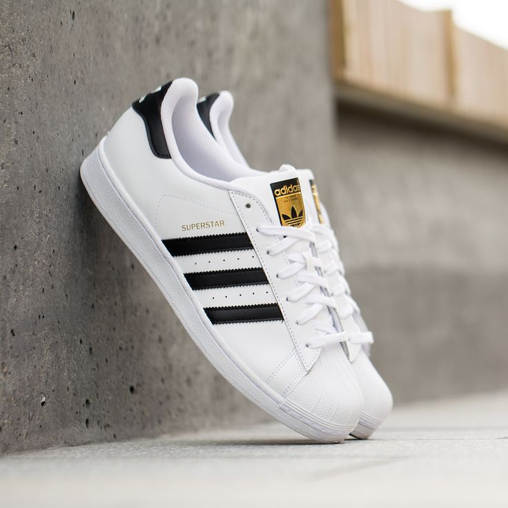 adidas white & silver superstar trainers nz