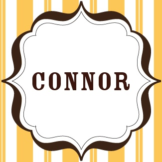 "Connor: ""friendly, gentle, intelligent""  Meaning: ""wisdom"""