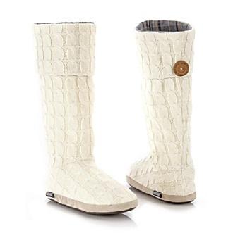 c30ec5c1e7c MUK LUKS® Cable Button Cuff Slipper Boots  16.97 from Bon-Ton. So perfect