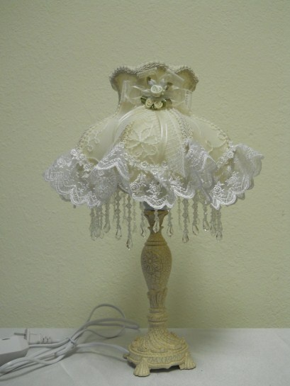 724 best shabby chic lamp images on pinterest lampshades shabby small cream lamp with cream rose center bedside lampsmall lampcream lamp aloadofball Choice Image