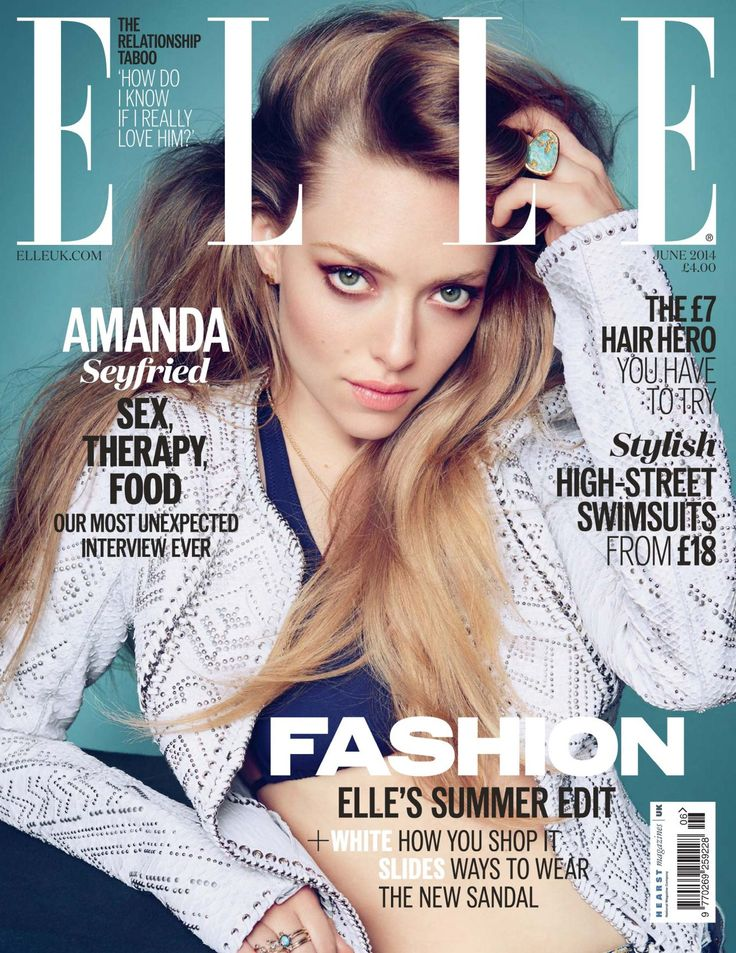 elle magazine covers   Amanda Seyfried - Elle Magazine (UK) June 2014 Cover - CelebMafia