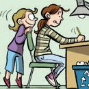Free webcomics by Raina Telgemeier, author of Smile and Sisters.