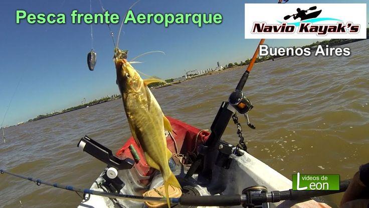 Pesca frente Aeroparque / Buenos Aires
