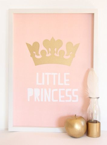 Cloud Nine Creative - Little Princess Print - A3