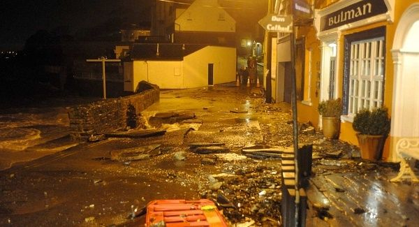 Irish Government announce a Miserly €35million aid for victims of Storms.
