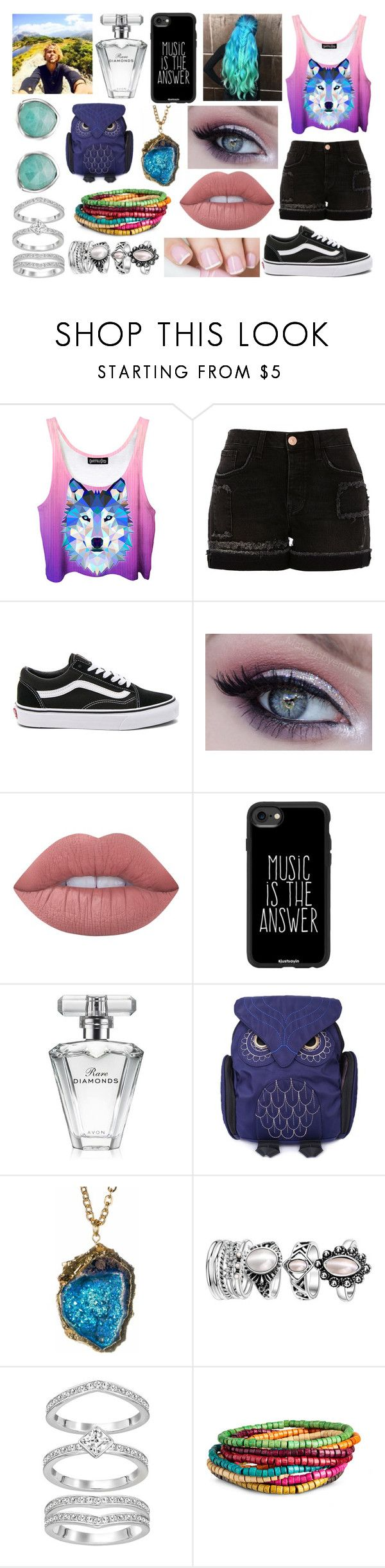 """""""Fair Date with Ashton Irwin"""" by kitty-styles-horan-biedka ❤ liked on Polyvore featuring Handle, River Island, Vans, Lime Crime, Casetify, Avon and Monica Vinader"""