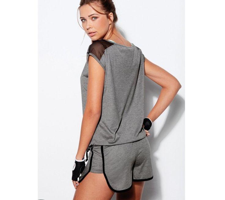 Tylové tričko s krátkými rukávy | modino.cz #ModinoCZ #modino_cz #modino_style #style #fashion #sport #fitness #sportswear