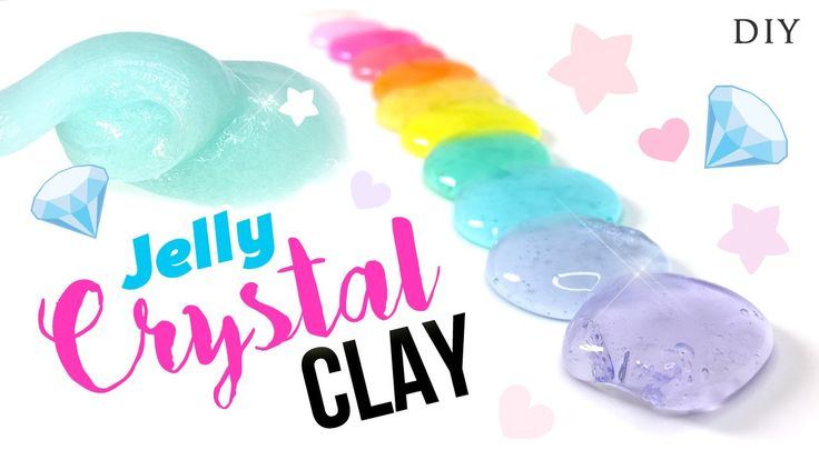 DIY Jelly Clear Slime Tutorial - Instagram Inspired DIY Slime!!