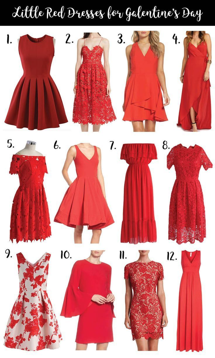 12 Little Red Dresses For Galentine S Day Fashion Dressed To Kill Red Dress Outfit Red Dresses Classy Little Red Dress