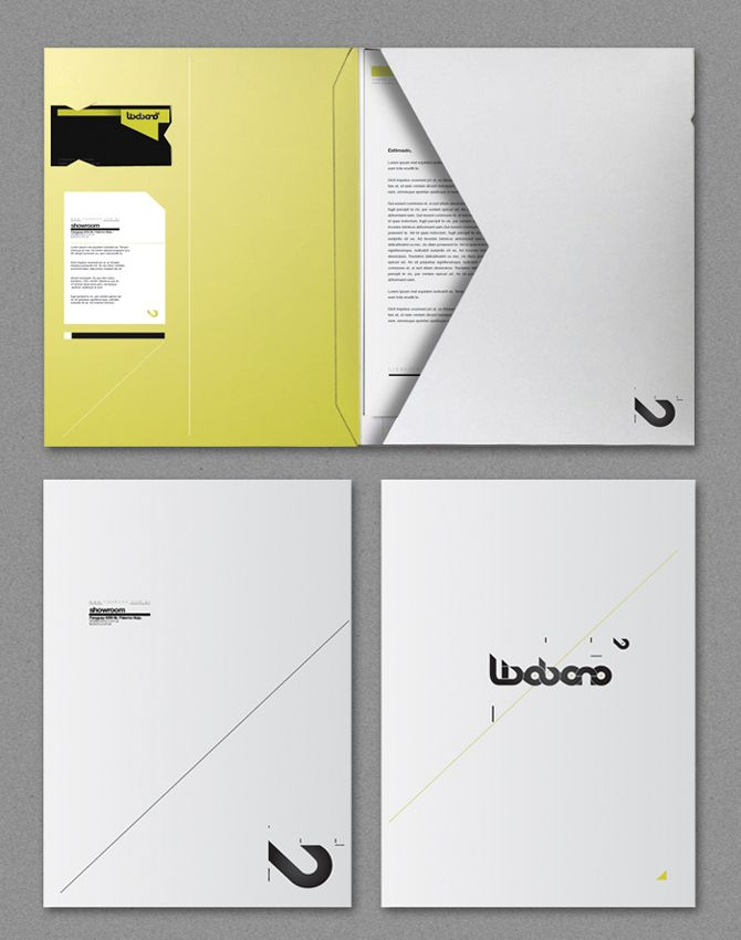 51 best corporate folders images on Pinterest Corporate identity - resume presentation folder