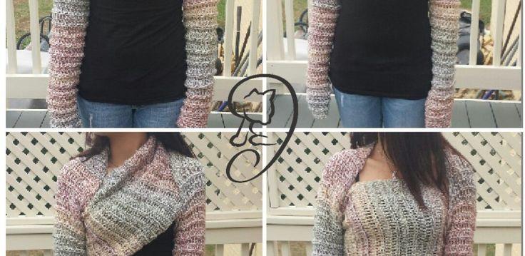 hug shrug free pattern