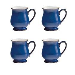 Denby Imperial Blue Craftsman Mug VALUE PACK - Tableking $132.99