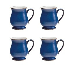 Denby Imperial Blue Craftsman Mug VALUE PACK - Tableking $132.99