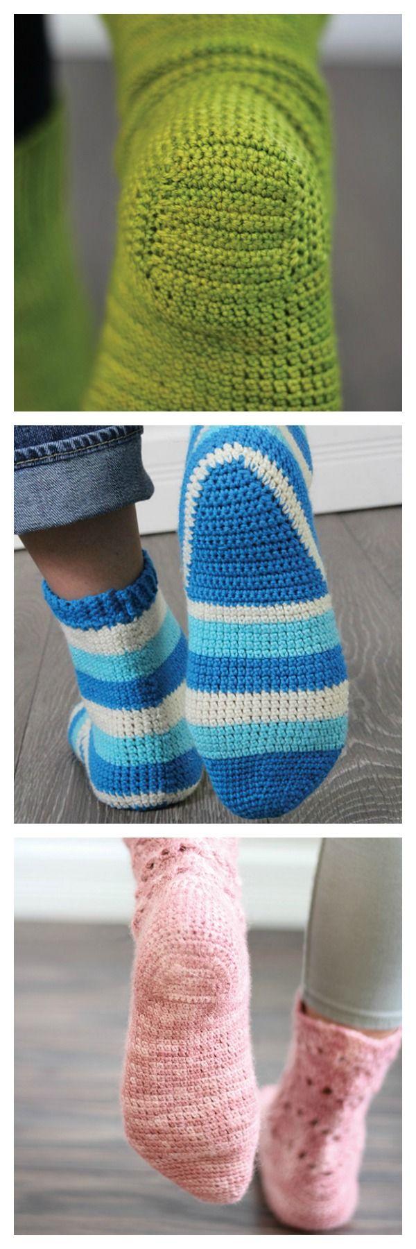 Best 25 crochet socks pattern ideas on pinterest crochet socks 3 crochet sock heels to master from step into crochet bankloansurffo Gallery