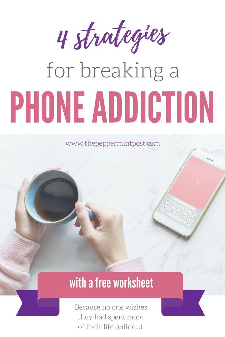 how to break phone addiction