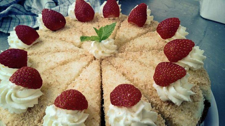 #greek coconut cake