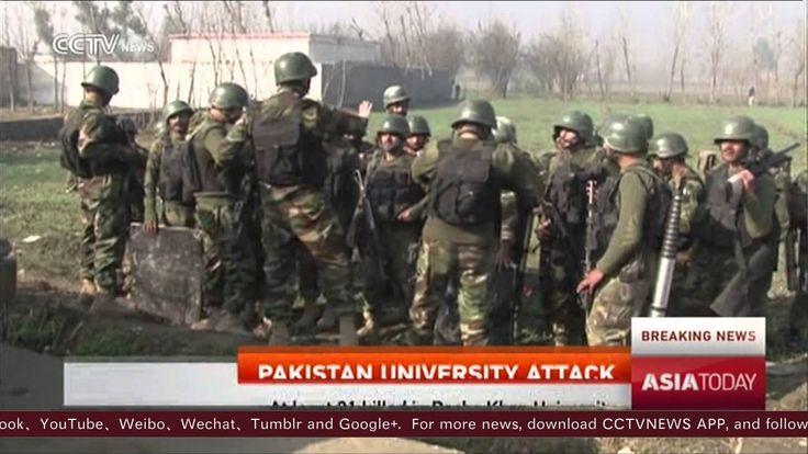 At least 21 dead in Taliban attack on Pakistan university