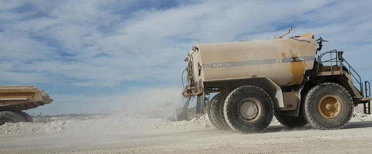 Control de polvo con agua, humicorp dispone de otras soluciones con aplicación directa sin necesidad de diluir en agua.