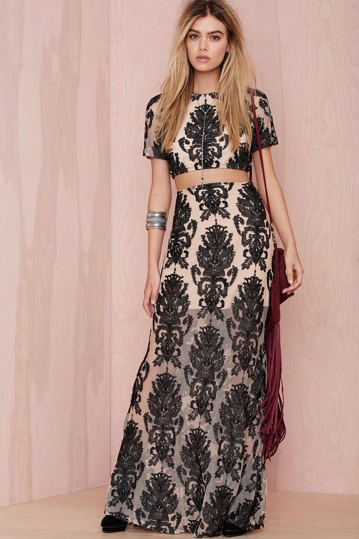 For Love and Lemons Ethereal Embroidered Skirt | Clothing--General ...
