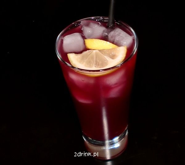 Drinki na Sylwestra: Purple Passion