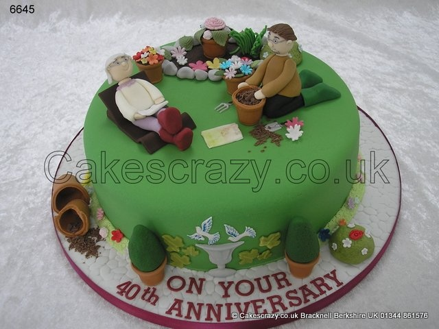 Ruby Wedding Anniversary Cake Ideas: 57 Best Images About Hiking Cakes Ideas On Pinterest