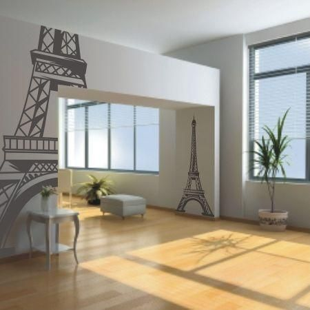 Naklejka dekoracyjna - Wieża Eiffla | Decorative sticker _ Eiffel Tower | 24,49PLN #naklejka #dekoracja #wieża_eiffla #wystrój_wnętrza #dekoracja_domu #decorative #sticker #wall_idea #wall_art #wall_decal #eiffel_tower #home_decor #home_interior
