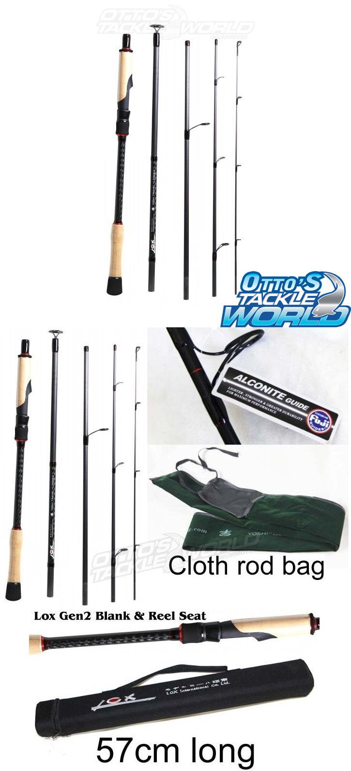 Travel Rods 179949: Lox Yoshi Travel Generation Ii Spin Rod Brand New At Otto S Tackle World -> BUY IT NOW ONLY: $319 on eBay!