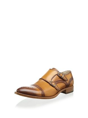 51% OFF Antonio Maurizi Men's Affonso Double Monkstrap (Cognac)