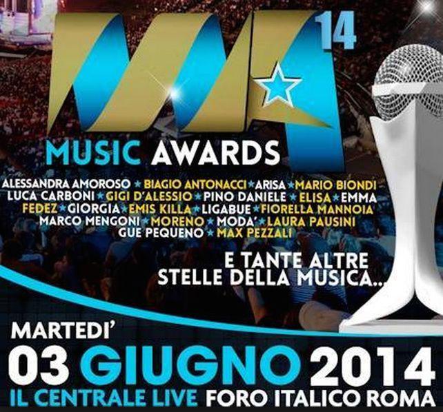 Marco Mengoni - Switzerland:  Marco Mengoni tra i premiati ai Music Awards 2014...