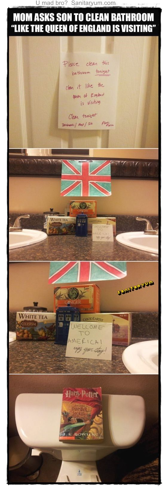 God save the Queen SANITARYUM! Clean Funny Pics! Sanitaryum: Funny Clean Humor Pics LOL VidsFeel Free To Like  Tag  Share  ... http://fb.me/humorwithin