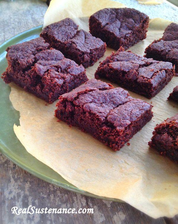 Bourbon Brownies | Paleo Recipe ideas (sweet) | Pinterest