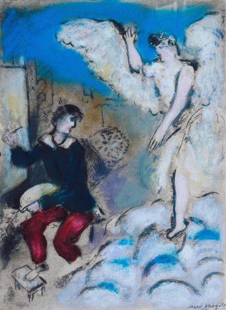 Les 6094 meilleures images du tableau marc chagall sur for Chagall tableau