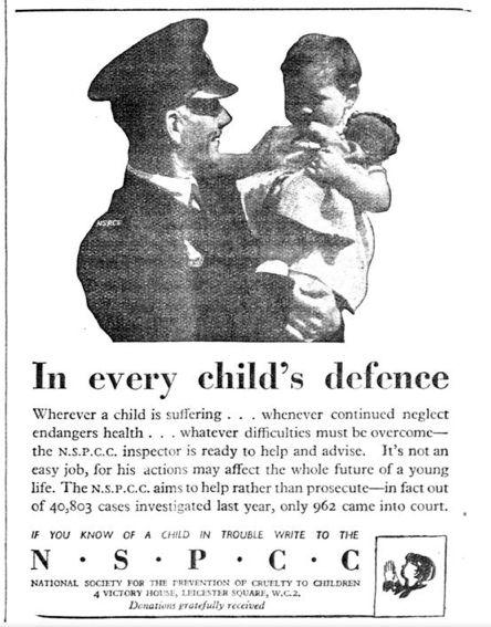 NSPCC. 25 March, 1948