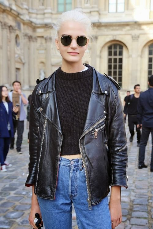Best 25  Leather jacket tumblr ideas on Pinterest | Trajenoite de ...