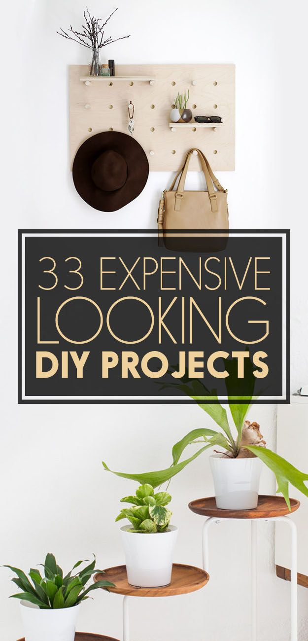 33 EXPENSIVE LOOKING DIY PROJECTS FOR YOUR ENTIRE HOUSE