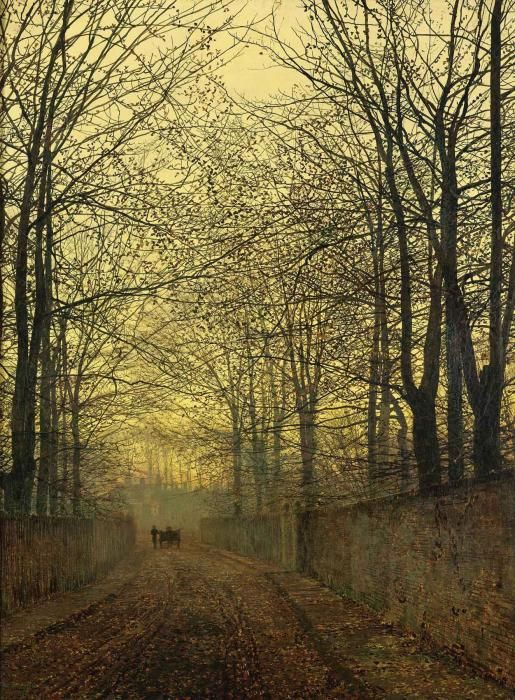 October Gold - John Atkinson Grimshaw