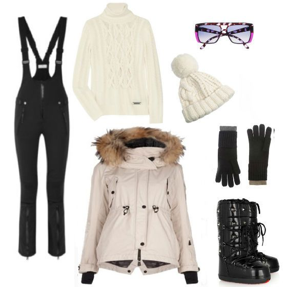 skiing outfit - when I am good enough for the black diamonds I think I will treat myself with a new outfit....first, must get off the bunny slopes