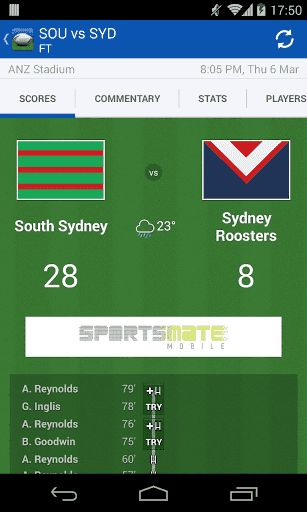 *** We are aware of a few issues with the current update ***<p>*** Please delete and reinstall the app to fix any issues ***<p>*** We are working through fixes now and appreciate your patience during this time***<p><br>Australia's #1 NRL app is back in 2014! Follow the game from every angle with lightning-fast live scores, stats, and more. <p>There will also be a number of additional NRL  League Live  updates coming in the next six weeks, so keep an eye out for more great new…
