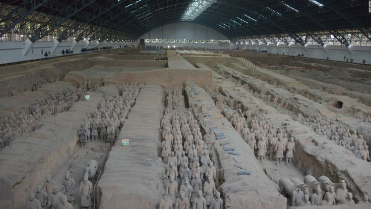 Image result for xi'an archaeological pit