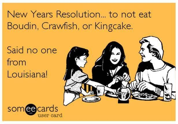 Never my New Years Resolution, that's for sure!