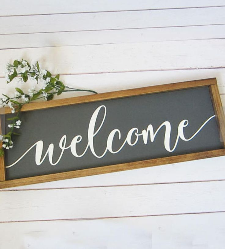 Decorative Home Signs: Best 25+ Welcome Home Signs Ideas On Pinterest
