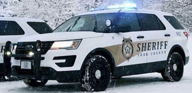 York County Me Sheriff 9 Ford Police Interceptor Utility
