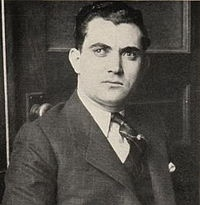 John Scalise (1900 - May 7, 1929) Organized crime figure & with Albert Anselmi, one of Chicago Outfit's most successful hitmen. He & Anselmi were suspects in 1924 murder of Dean O'Banion, boss of Chicago's North Side Gang. They were acquitted. Arrested in St. Valentine's Day Massacre case, they were let go. In early morning hours of May 8, 1929, bodies of Scalise, Anselmi, & Joseph Giunta were discovered on a lonely road near Hammond, Indiana. All three had been severely beaten & shot to…