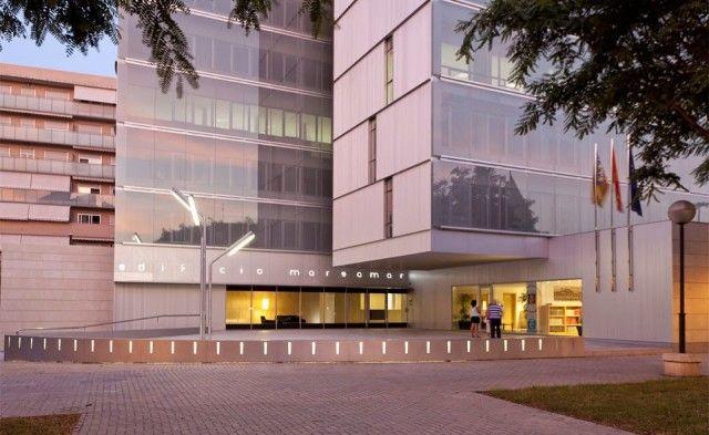 Edificio oficinas marsamar 3 architecture pinterest for Oficinas bankinter alicante